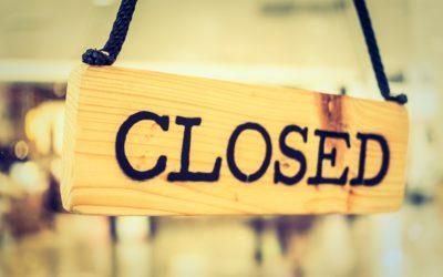 Qué podemos hacer con las tiendas cerradas al público